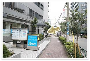 用賀駅からの道順4
