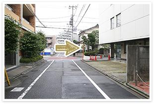 用賀駅からの道順6