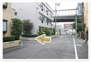 用賀駅からの道順7